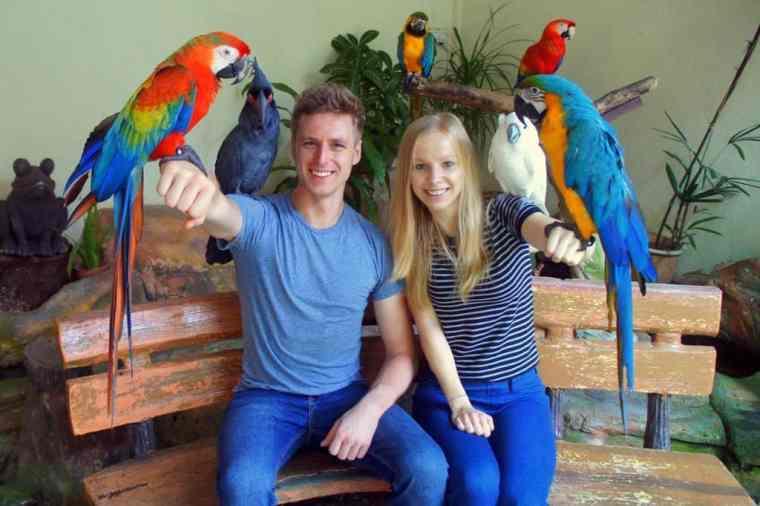Birds park in Kuala Lumpur
