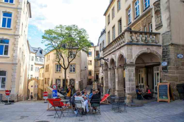 The Old Town of Luxembourg