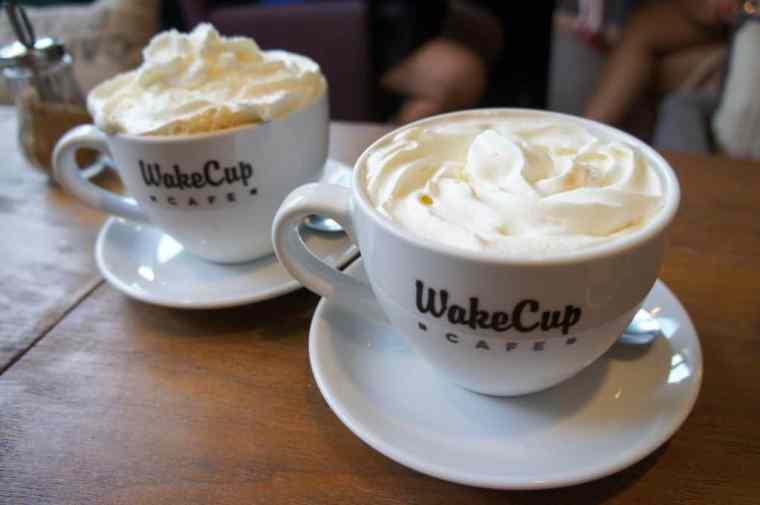 WakeUp coffee in Warsaw