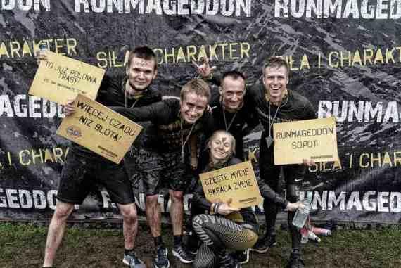 Runmageddon race, Sopot