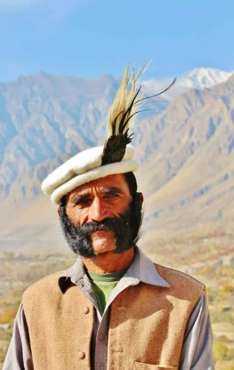 A man from Pakistan