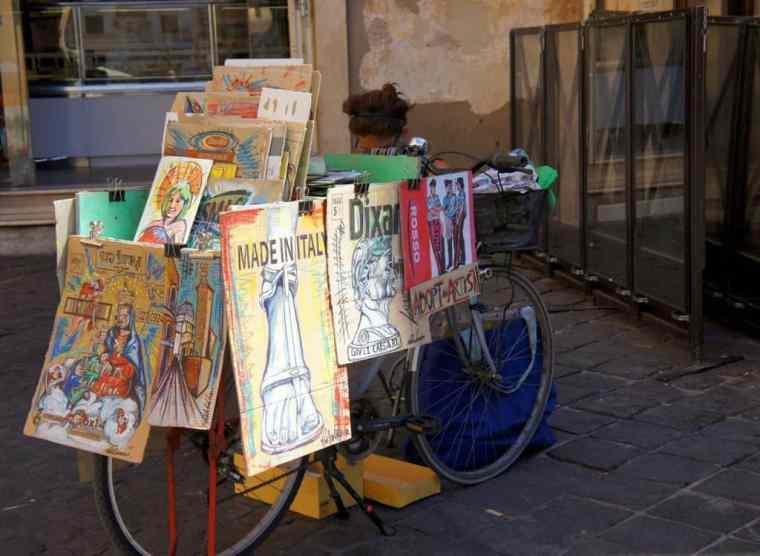 Souvenirs in Rome