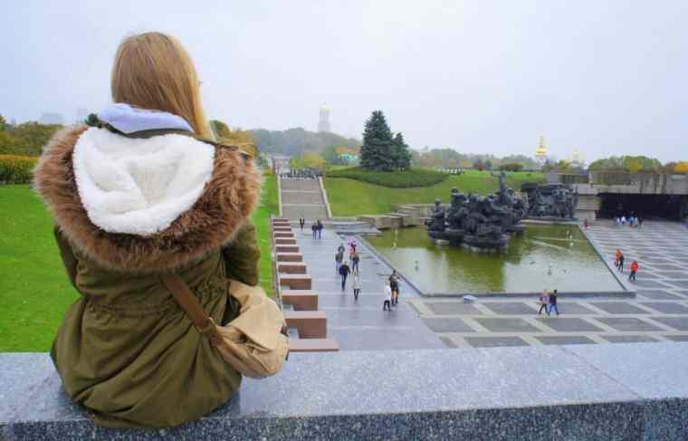 Admiring Kiev, Ukraine