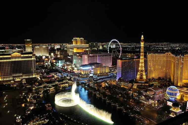 Overview of Las Vegas Pixabay