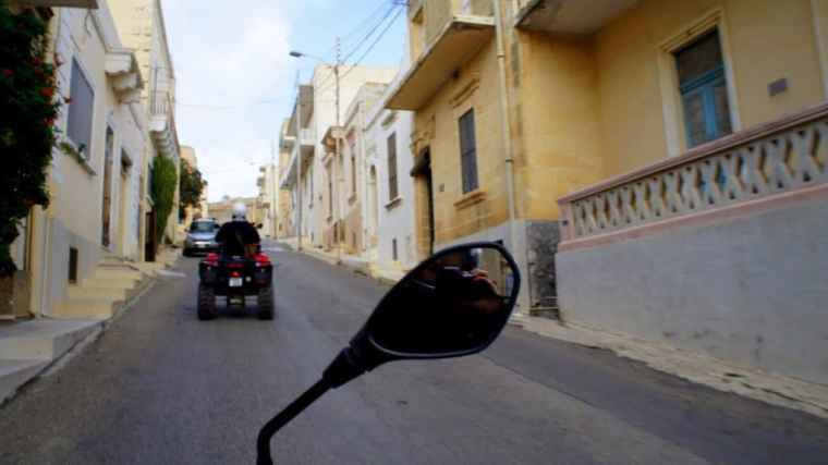 Exploring Malta on a quad bike