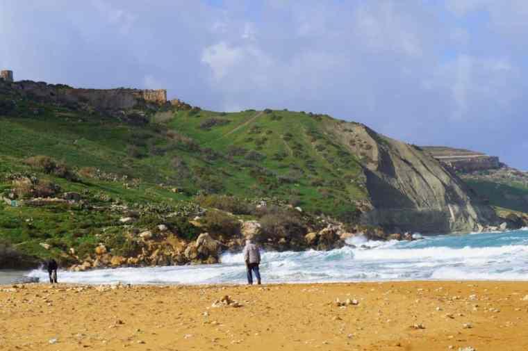 Gozo Island in Malta