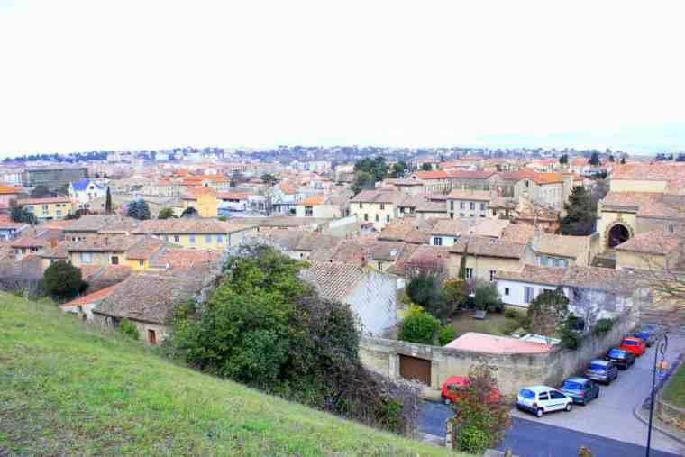 View from the Carcassonne castle