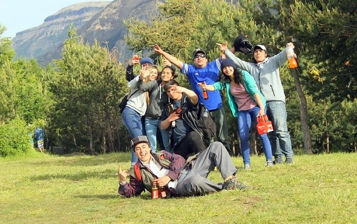 A group of Chilean I met in Patagonia