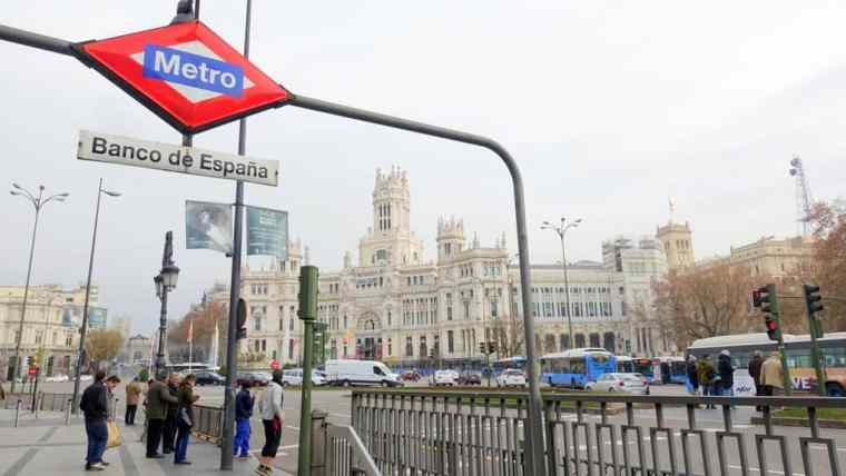 Metro in Madrid