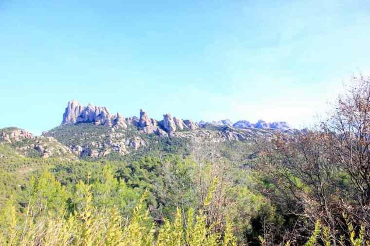 Monserrat peak