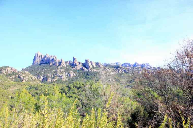 Monserrat peak