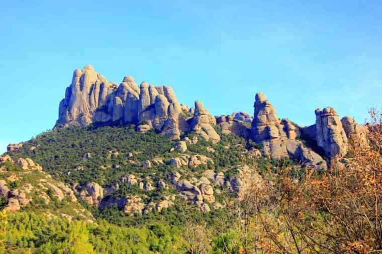 Scenery in Monserrat