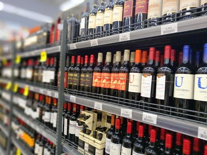 Shopping for wine in Chile