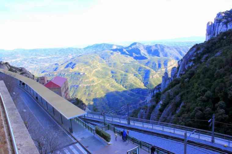 Stunning scenery in Monserrat, Spain