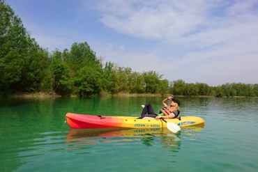 Agness kayaking in Banyoles