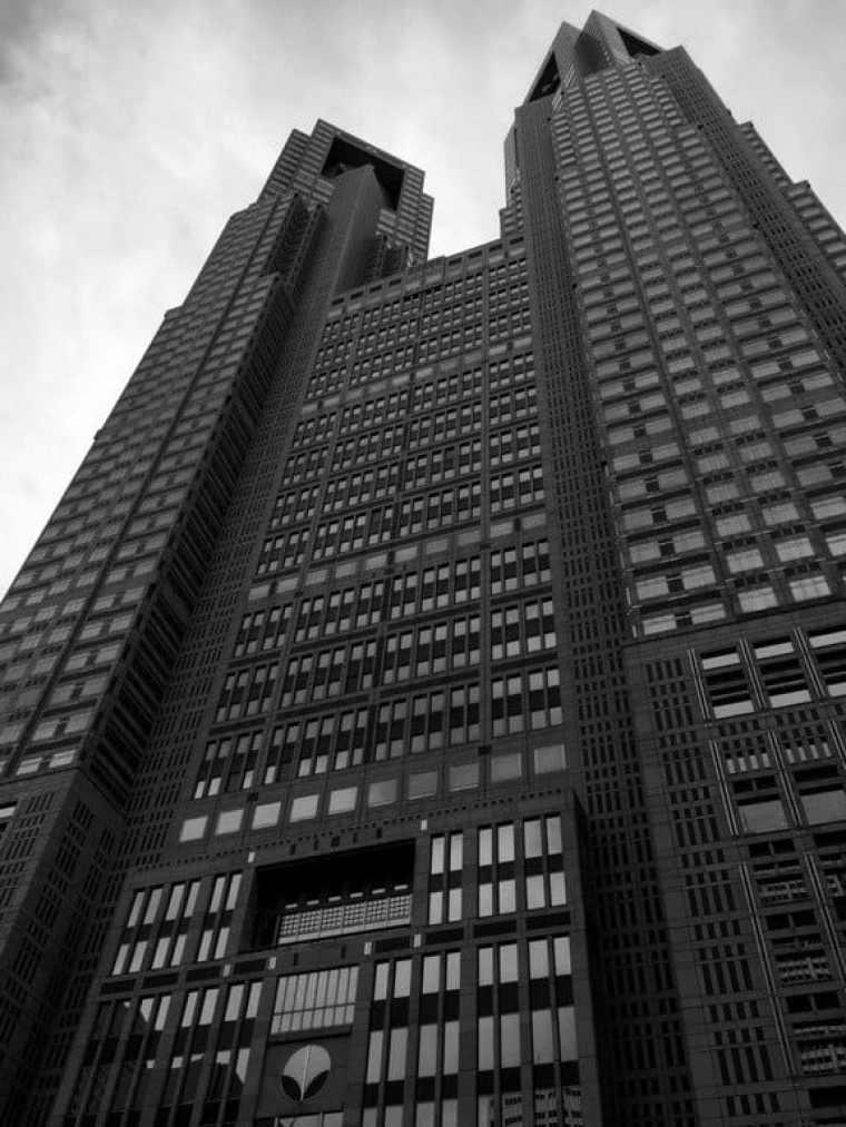 Skyscraper in Tokyo