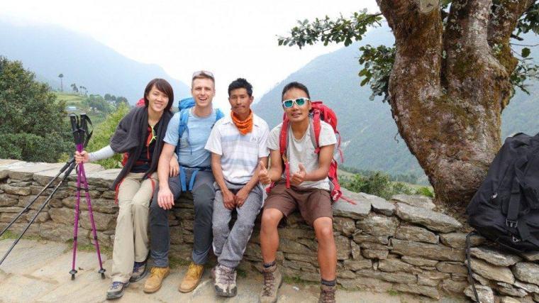Our Everest team