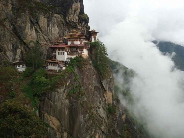 The Tiger's Nest Monastery - Bhutan Tour Itinerary