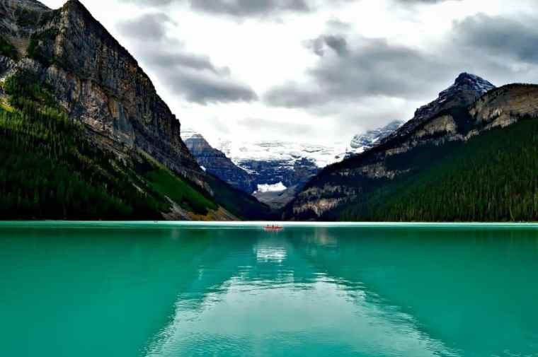 Lake Louise in western Canada