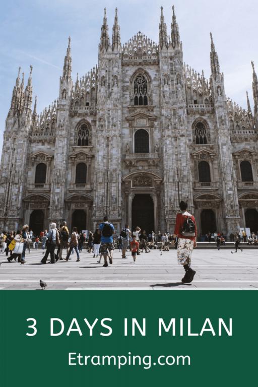 3 Day Milan Itinerary