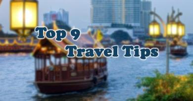 9 Travel Tips that All Experts Recommend to Enjoy Your Trips