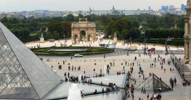 Arc de Triomphe Louvre Paris