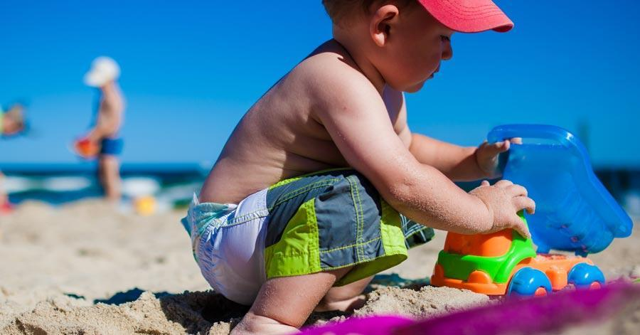 Uncover 5 Best Places To Go On Vacation With Your Baby beach
