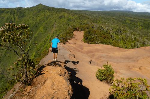Un sommet de Kauai