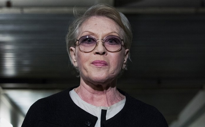 Alice Freundlich hospitalized with coronavirus