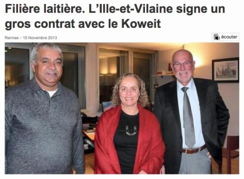 contrat Koweit