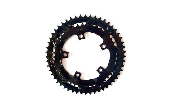 TongSheng TSDZ2 Dual Chain Ring – 42T/52T