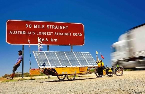 David Brandenberger's Incredible Road Trip On A Solar Powered AZUB T-Tris