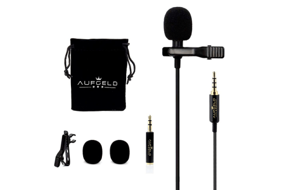 Mini Lavalier Lapel Condenser External Microphone For GoPro (UPDATED)