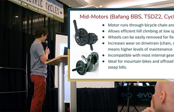Justin @ Grin Technologies Introduction To Ebike Conversion Kits Filmed Live @ 2019 BC Bike Show