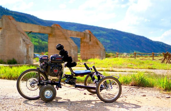 VIDEO/ARTICLE – Comanche On/Off-Road Gas/Electric Recumbent Trike