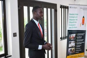 Godwin Agahu, CEO de Wakiza