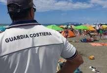 Guardia costiera spiaggia