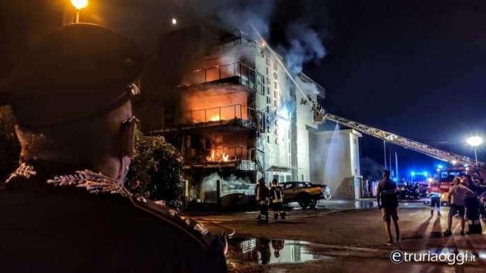 incendio hotel Margherita