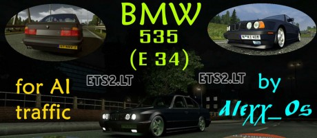 BMW-E-34-AI-Traffic-Car