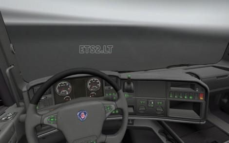 Scania R Dashboard Light-2