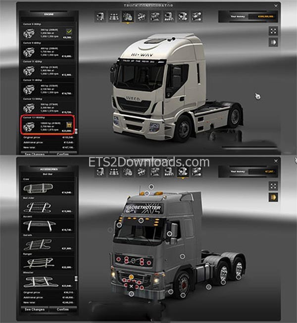 No-levels-New-engine-ets2