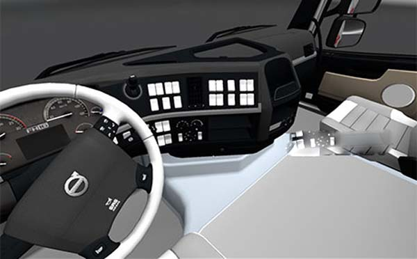 Volvo-White-interior-ets2