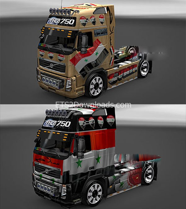 Syria-Volvo-FH16-skin-ets2