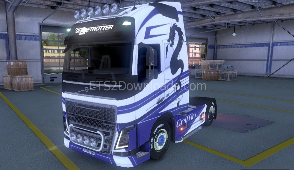 griffin-skin-for-volvo-2012-ets2-2