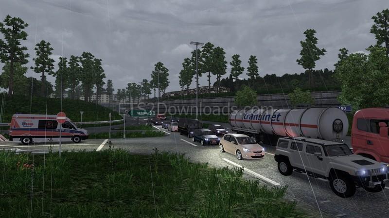 Mega Traffic Mod v5 2 - ETS2 Mods