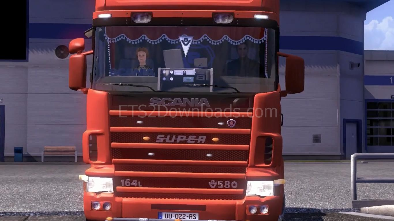 Mats For Cars >> Scania 164L + Addons - ETS2 Mods
