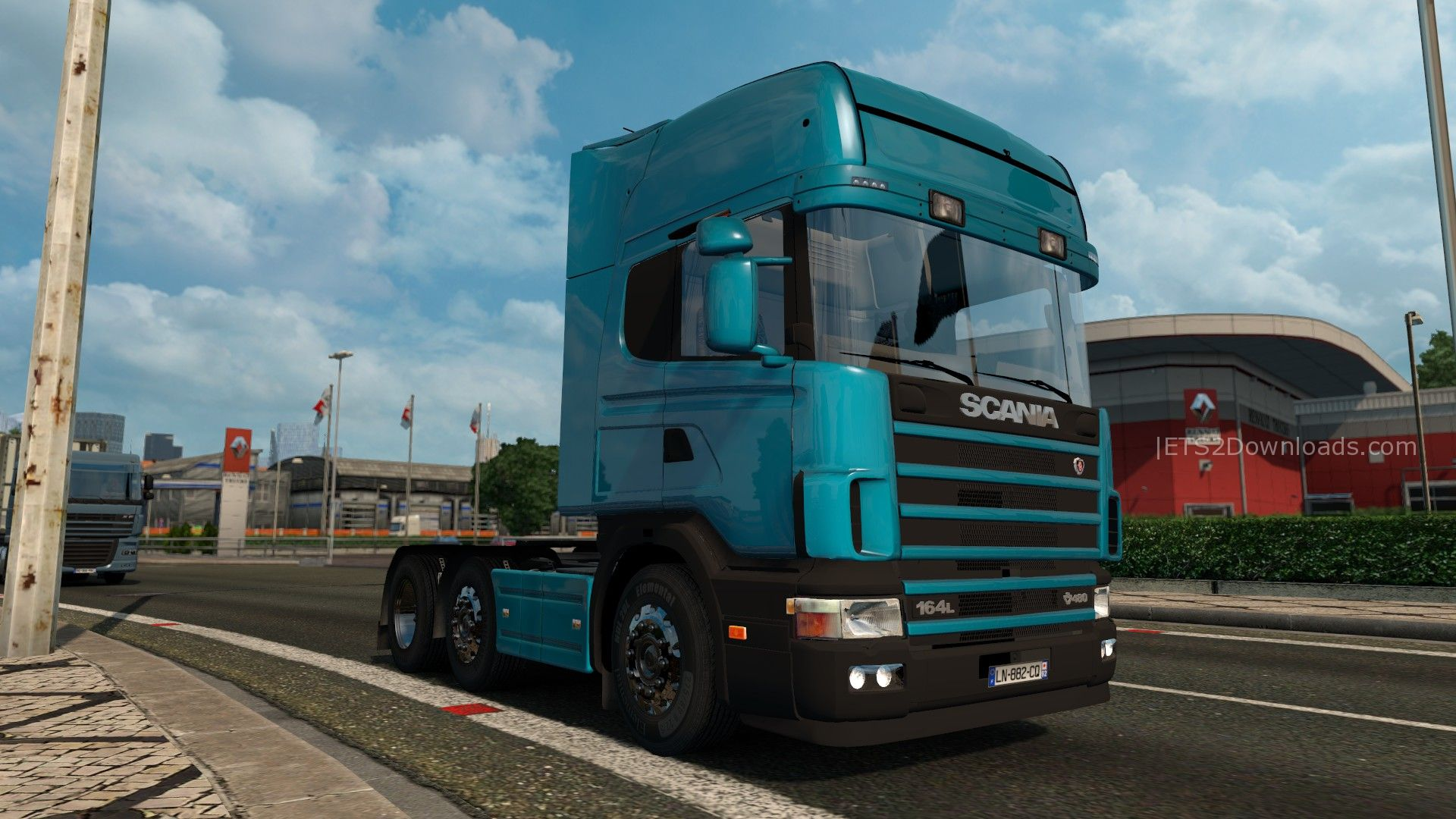 Scania 4-Series - ETS2 Mods