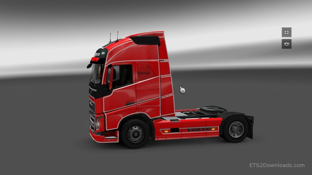 simple-skin-for-volvo-fh-2012