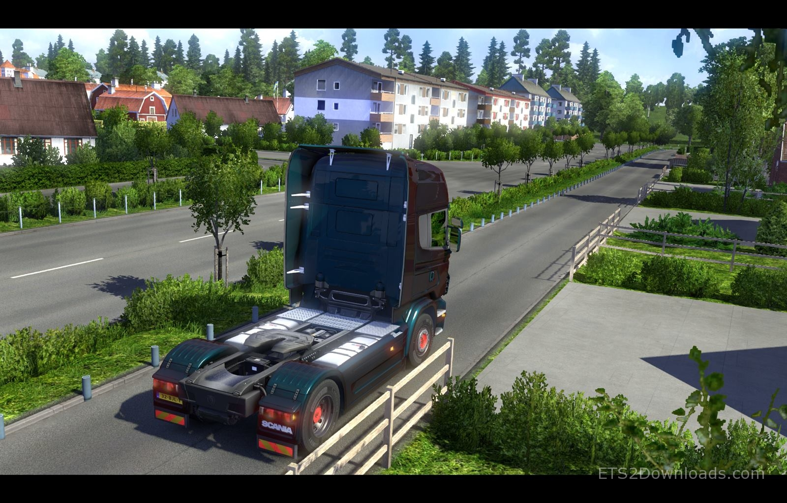 extreme country map beta euro truck simulator 2 mods. Black Bedroom Furniture Sets. Home Design Ideas