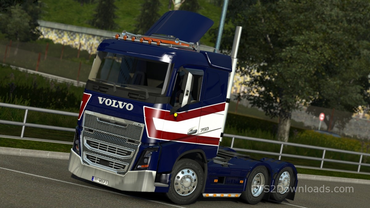USA GTM Pack for Volvo FH16 2013 - ETS 2 Mods